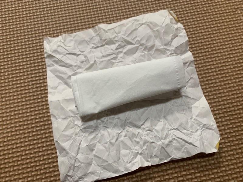 折り紙お寿司で卵寿司を作る