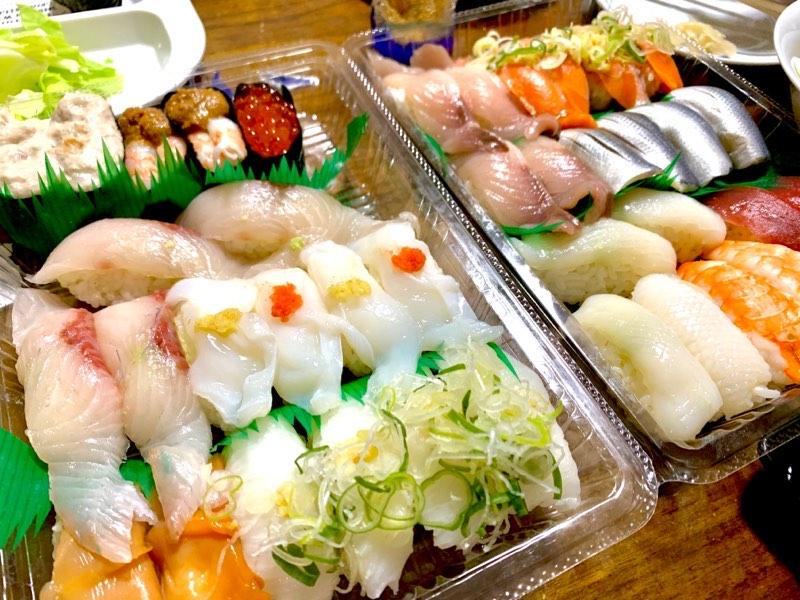 時々本当のお寿司も食べよう
